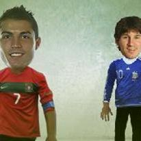 WorldCup: CR7 Vs Messi