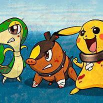 Pokémon Black and Blue Gotta Free 'em all!