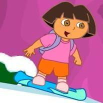 dora-snowboard