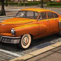 Vintage Sports Cars: 3D Parking