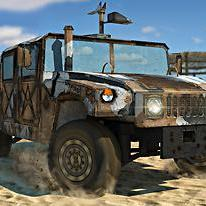 Off-Road Army Car: 3D Parking