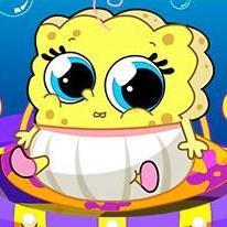spongebob-baby-caring