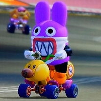 Nabbit for Mario Kart