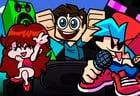 Super Friday Night Funkin' vs Minecraft